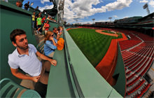 The Green Monster, Fenway Park, Boston - Virtual tour