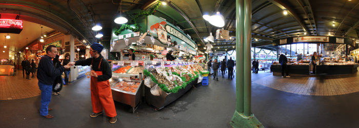 Pike Place Fish Market, Seattle - Virtual tour